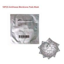 Película de membrana anticongelante papel de cavitación para liposucción por congelación de grasa, almohadilla crioterapia, bolsa de Gel de refrigeración, terapia de película, 10 Uds.