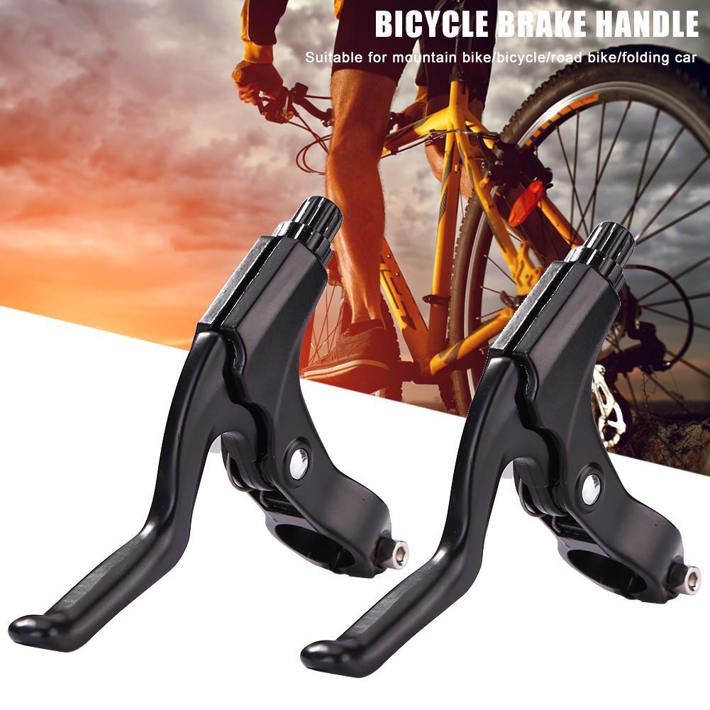 1Pair Aluminum Alloy BMX Brake MTB Mountain Reach Bike Brake Lever