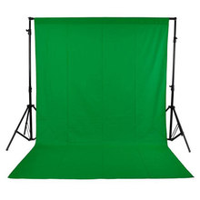 2X3m Photography Backdrops Green Screen Chroma key Background Photocall Non-Woven Fabric Photographic Backdrops for Photo Studio(China)