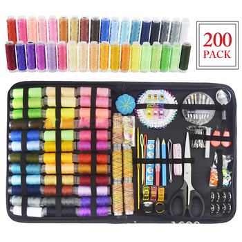 Set Sewing Kits DIY Multi-Function Sewing Box Set Hand Sewing Bag Stitching Embroidery Thread Sewing Box DIY Sewing Tools A099 фото