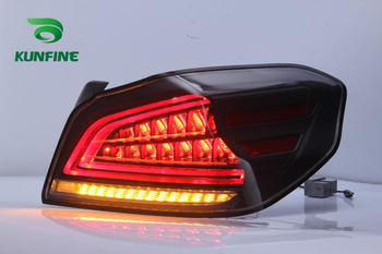 Автомобильный задний светильник в сборе для Subaru WRX 2013 UP ЗАДНИЙ светильник, стоп светильник, с поворотным сигналом, Автомобильный светодиодн