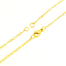 Stainless Steel woman choker chain 2 bail loops necklace Jewelry thin ROLO O Chains Customize necklace Wholesale 10pcs(China)