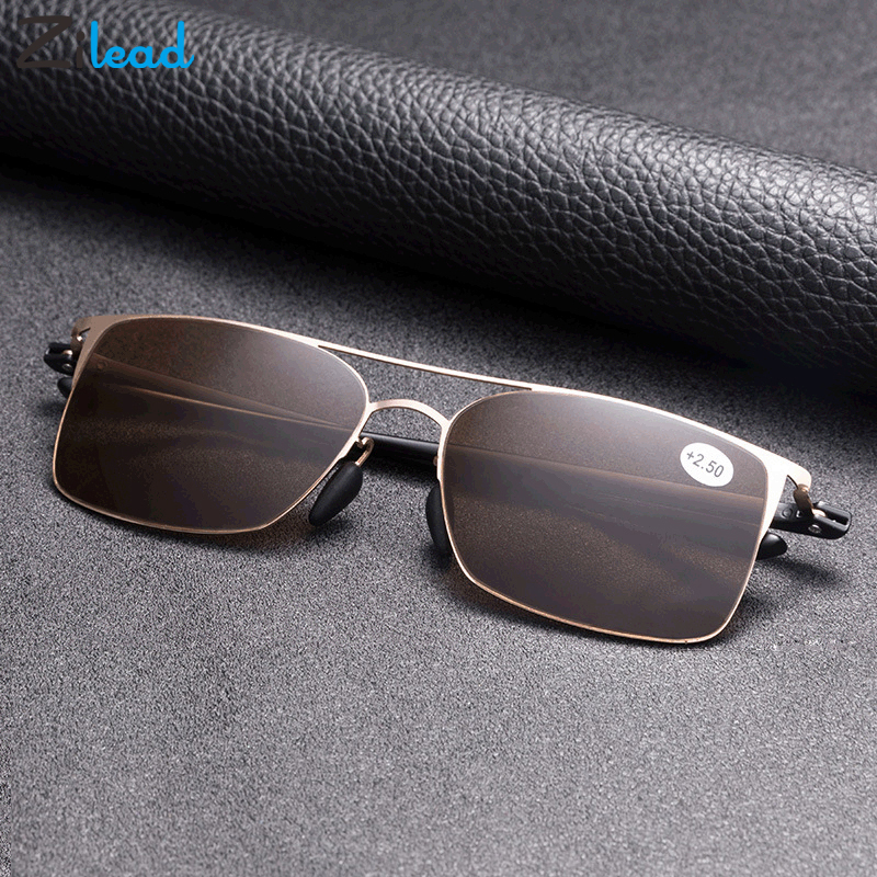 Zilead Multifocal Sunglasses Reading Glasses Men Women Presbyopia Hyperopia Eyeglasses UV400 Sun Glasses Fishing Driving Eyewear