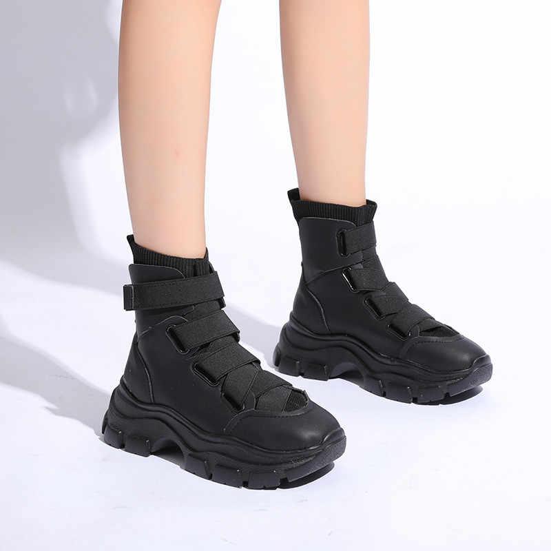 Botas de Invierno para mujer 2019, populares zapatillas con