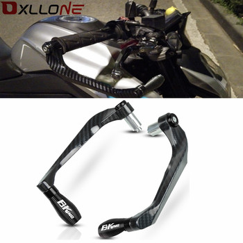For SUZUKI B-KING 2008-2012 Motorcycle 7/8 22mm Lever Guard Handlebar Grips Guard Brake Clutch Levers Protector Accessories for bmw f800s adventure f800s 2008 2016 2009 2010 motorcycle 7 8 22mm handlebar grips guard brake clutch levers guard protector