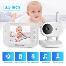 Baby Monitor Camera Audio Temperature-Detection Two-Way-Radio Night-Vision Portable Wireless-Video