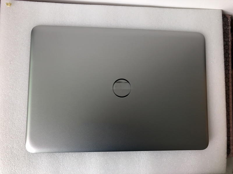"""26TRK 026TRK New Dell Inspiron 15 7547 7548 15.6/"""" LCD Back Cover W// Hinges"""