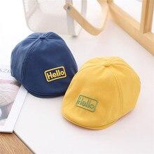 Hat Beret Cap Warm-Caps Spring Gentleman Kids Cotton Fashion Summer Children Boy Unisex