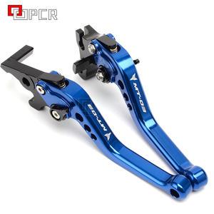 Leviers de frein et dembrayage r/églables et extensibles pour moto Yamaha MT-03 MT03 MT-03 MT-03 2015-2016