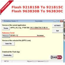 Прошивка Lexia 3 = Rev.C + 4.3.3 + для драйвера PSA Evolution To Flash 921815B To 921815C, которая поддерживает Diagnox V7.83 V9.68
