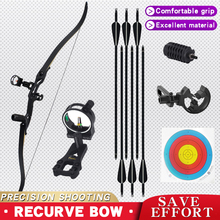 30-50 lbs Traditional Recurve Bow Archery Target Professiona