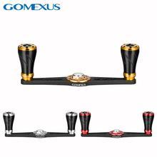 Gomexus Straight Carbon Handle for Shimano Daiwa Abu Garcia Baitcasting Handle 105mm