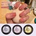 Металлический окрашенный клей для ногтей, фототерапия, золотой, серебряный, матовый, стойкий, водонепроницаемый, 8 цветов на выбор, косметик...