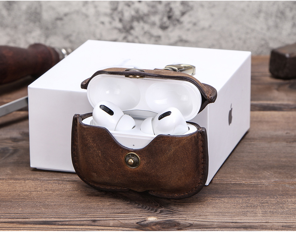Retro Genuine Case for Airpods Pro 34