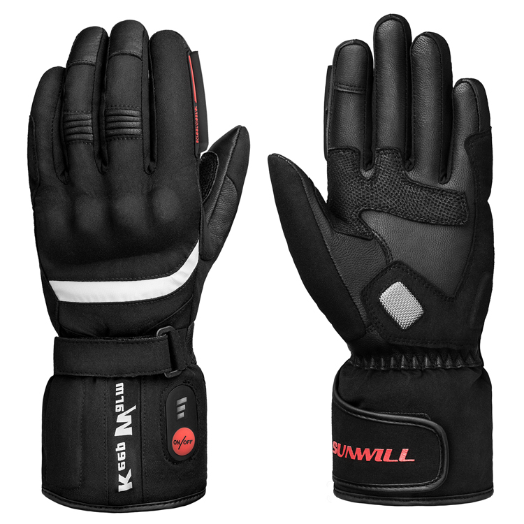 SUNWLL HEAT Motorcycle Outdoor Electric Heated Gloves Rechargeable Battery Hands Warmer fishing Waterproof Riding Racing hot