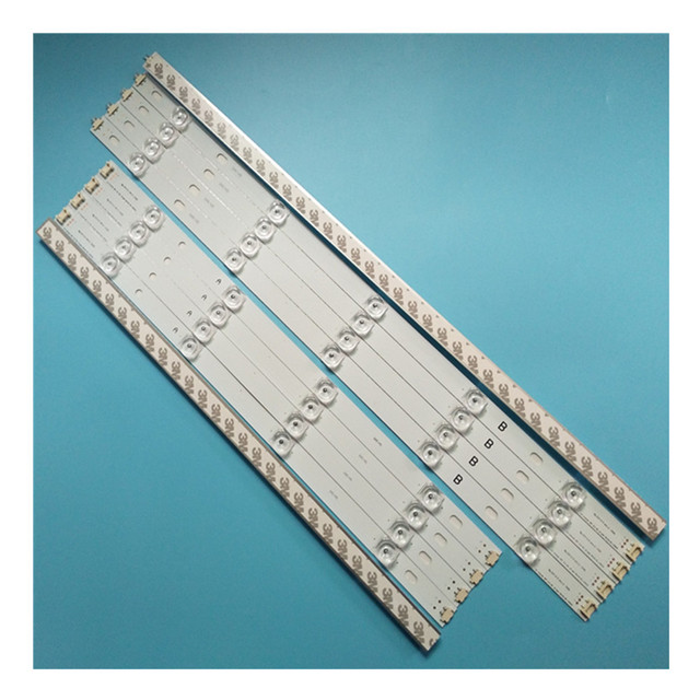10 pieces/kit LED strips for L G 50 inch TV 50LB582V ZG 50LB5610 ZC 50LB580V ZM 50LB580U ZM 50LB5700 ZB 50LB5700 ZK T500HVF05.0