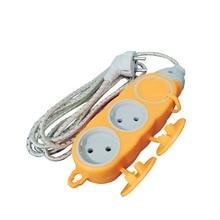 цена на EU Plug Socket Extension Cord Socket European Standard Outdoor Waterproof Socket 2.5M Power Cord