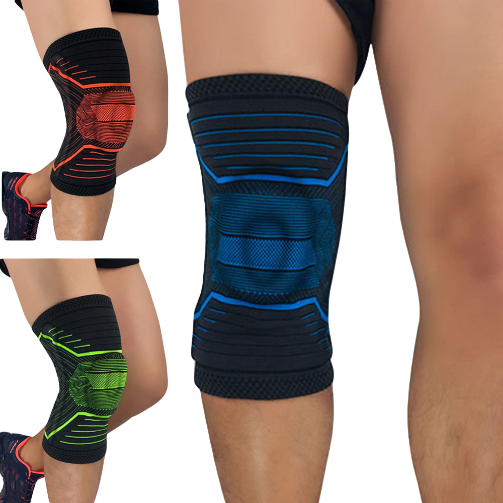 Sports Elastic Knee Pads Protection Support Fitness Basketball Knee Sleeve