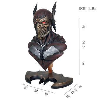 23 CM Batman Action Figure The Red Death PVC Model Toys Dark Knights Batman Statue Collection Toy