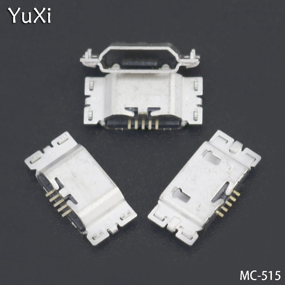 YuXi 5pcs/lot For Asus <font><b>ZenFone</b></font> <font><b>Go</b></font> TV <font><b>ZB551KL</b></font> X013D ZB452KL X014D micro mini <font><b>usb</b></font> jack charging connector plug dock socket port image