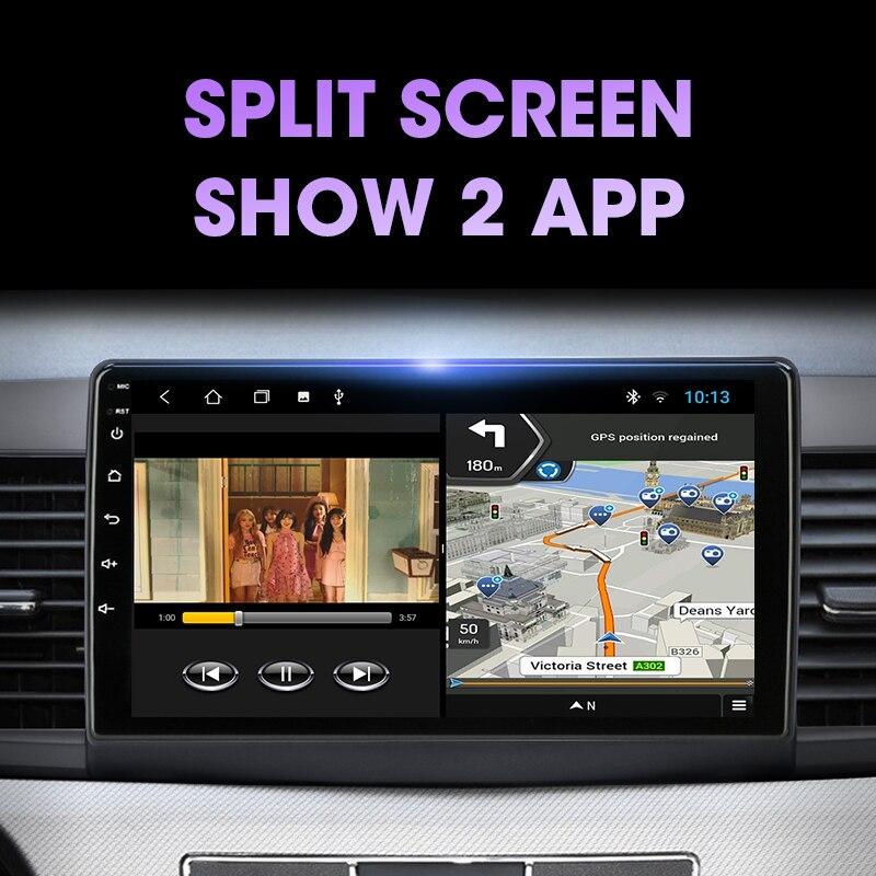 VTOPEK Android 9,0 T3L PLUS Für Mitsubishi Lancer 2007-2012 Auto Radio Multimidia Video Player Navigation GPS Keine 2din 2 Din Dvd