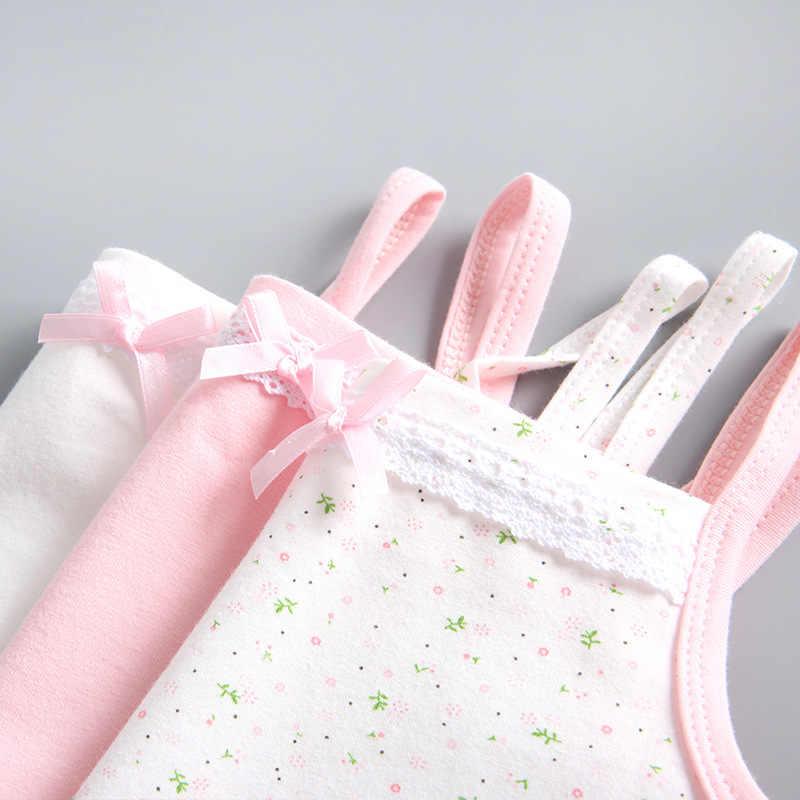 Bé Gái Mùa Hè Áo Cotton Không Tay Trẻ Em Áo Vest Cho Bé Gái Trẻ Em Xe Tăng Đầu Thời Trang Quần Áo Trẻ Em