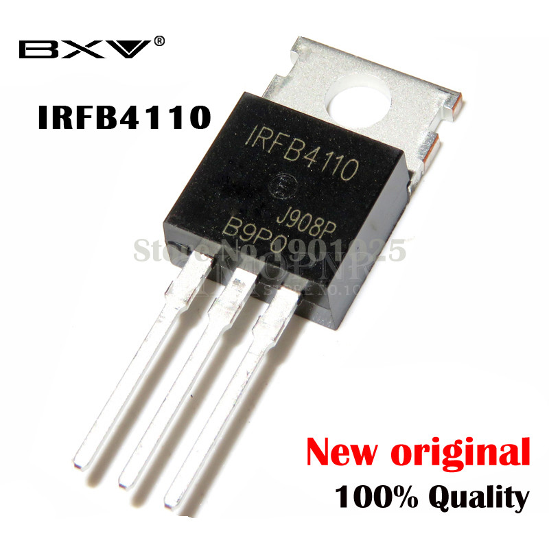 10PCS IRFB4110PBF TO-220 IRFB4110 FB4110 MOSFET IC New And Original