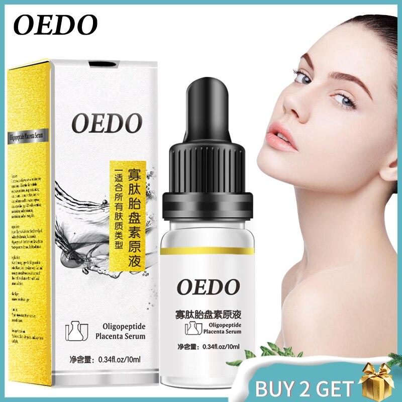 OEDO Oligopeptide Placenta Acne Skin Rejuvenating Essence Liquid To Remove Acne Marks To Repair Facial Skin Whitening Fine Pores