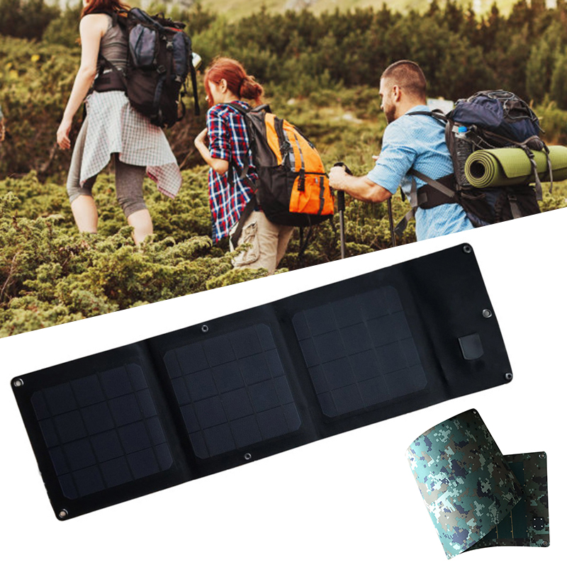 Portable 15W Solar Panels Portable Folding Foldable Waterproof 5V/3A USB Solar Panel Charger Power Bank for Phone Battery 8|Outdoor Tools|   - AliExpress