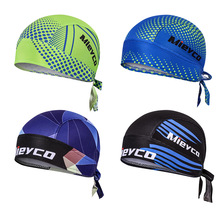Mieyco Bicycle Cycling Headbands Sport Cyclist Cycling Cap For Men Head Bandana Female Bike Cap Men's Summer Running Headscarf