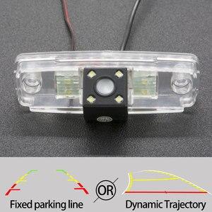 Câmera de visão traseira do carro de trajetória fixa ou dinâmica para subaru forester 2002-2013 outback br 2009-2014 legacy/liberty monitor do carro
