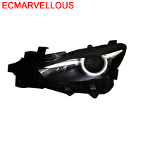 Assessoires Neblineros Para Auto Accessory Side Turn Signal Led Drl Headlights Car Lights Assembly 14 15 16 FOR Mazda 3