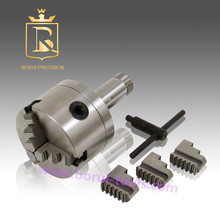 цена на Lathe machine tools accessories 3 jaw self centering lathe chuck 5C adapter 4