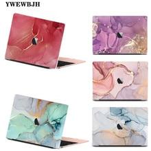 YWEWBJH Marbling чехол для ноутбука MacBook Air 13 A1466 A1932 2020 Pro 13 15 16 дюймов Touch bar A2141 A2159 пластиковый жесткий чехол