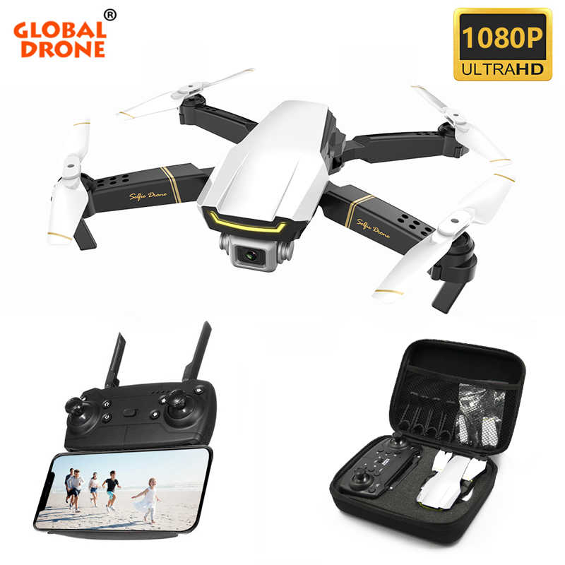 Global Drone GW89 Lipat Mini Drone RC Quadrocopter dengan Kamera HD Helikopter RC FPV Drone Vs M69 XS816 E58 e520