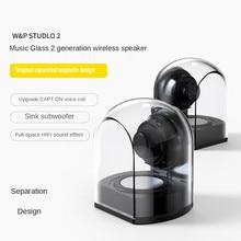 Bluetooth Wireless Hi-fi Hi-fi mini speaker noise reduction magnet separate design Stereo Surround Subwoofer Sound Home Office
