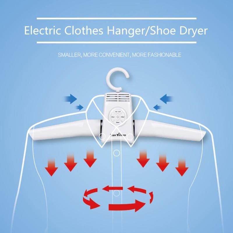 Портативная сушилка для одежды, вешалки для обуви, складные электрические смарт 5 кг несущая способность