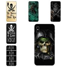 Soft TPU Cell Bags Under The Black Pirate Skull Flag For Apple iPhone 11 X XS Max XR Pro Max 4 4S 5 5S SE 6 6S 7 8 Plus(China)