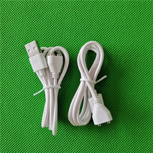 Vibrador magnético cabo de carregamento dc vibrador cabo de cabo para adulto recarregável sexo vibrador fonte de alimentação usb carregador sexo produto