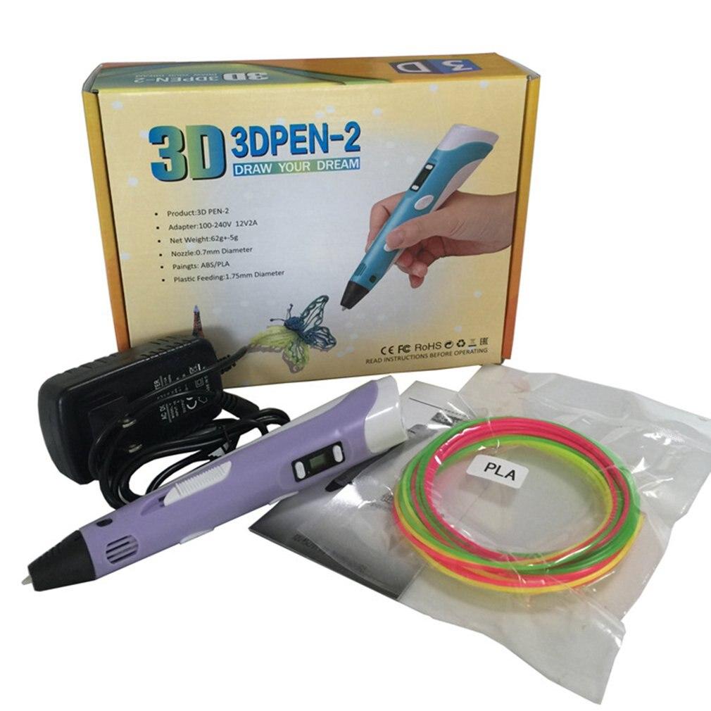 3D penna di stampa FAI DA TE 3D matita 3D disegno a penna PLA filamento per l'istruzione dei bambini giocattoli Per I Bambini regali di compleanno