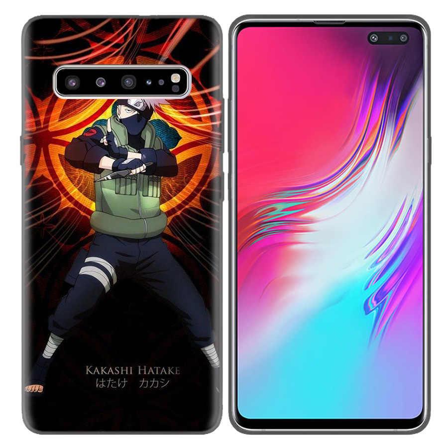 Naruto Kakashi TPU Shell Caixa Do Telefone Capas Para Samsung Galaxy A7 A8 A9 Coque A6 J4 J6 Plus 2018 Nota 8 9 10 S7 Borda