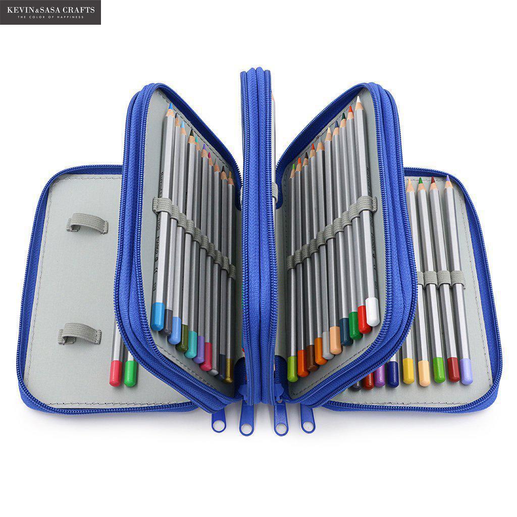 Super Big Pencil Case 72pcs Pencil Holder Fabric Quality School Supplies Stationery Gift School Box Pencilcase Pencil Bag
