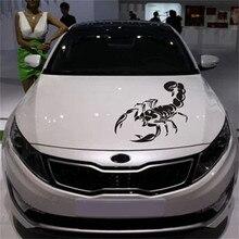 Nouveaux autocollants et décalcomanies de voiture moto Scorpion mignon 3D 30CM autocollants de style de voiture autocollants de voiture amusants pour toutes les voitures