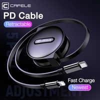 CAFELE PD veloce cavo di ricarica per iphone 8 x xs xr 11 pro max, USB C a per Cavo di Fulmine 18W Rapido di Ricarica e La Sincronizzazione del Cavo