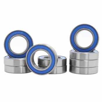 6801RS Bearing ABEC-3 (10PCS) 12*21*5 mm Thin Section 6801-2RS Ball Bearings 61801 RS 6801 2RS With Blue Sealed L-2112DD 10pcs high quality abec 5 mr117zz mr117 2rs smr117zz smr117 2rs 7 11 3 mm 7x11x3 mm miniature thin wall deep groove ball bearing