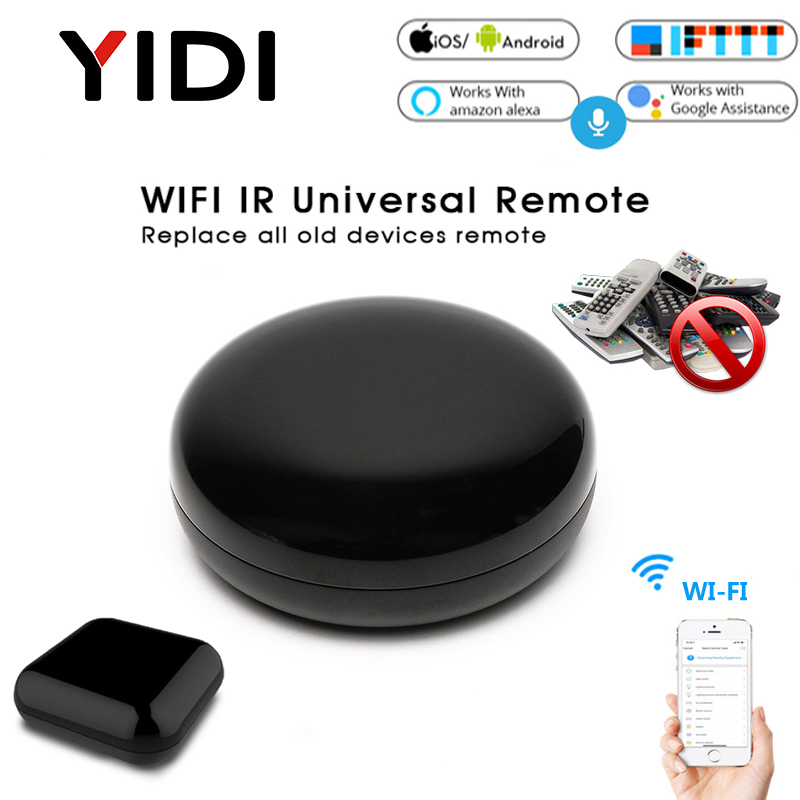 Wifi Smart IR Remote Control Hub UFO-R1 Infrared Universal Smart Life Tuya APP One For All Control TV Voice Timming Control