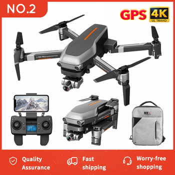 CONUSEA new L109 PRO GPS Drone With Camera 4K ZOOM Anti-Shake Stable Gimbal Professional RC Quadcopter Dron Helicopter VS SG906