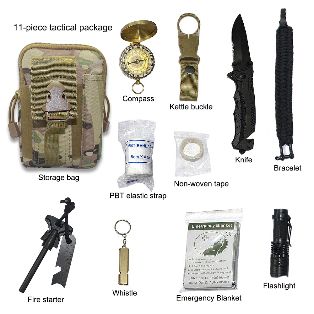 Outdoor Adventure Camping First Aid Kit Emergency Rescue Bag Gift Combination Toolkit Toolkit