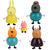Peppa Pig Anime Toys George Dad Mom Education Family Role Action Figure PVC Model Pelucia Children Birthday Gifts