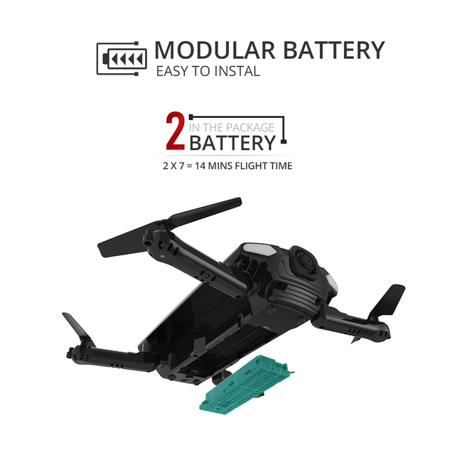 Holy Stone HS160 Foldable Headless Mode Professional Camera Drone